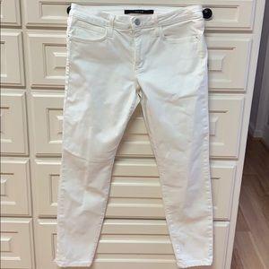 Joes jeans in white skinny